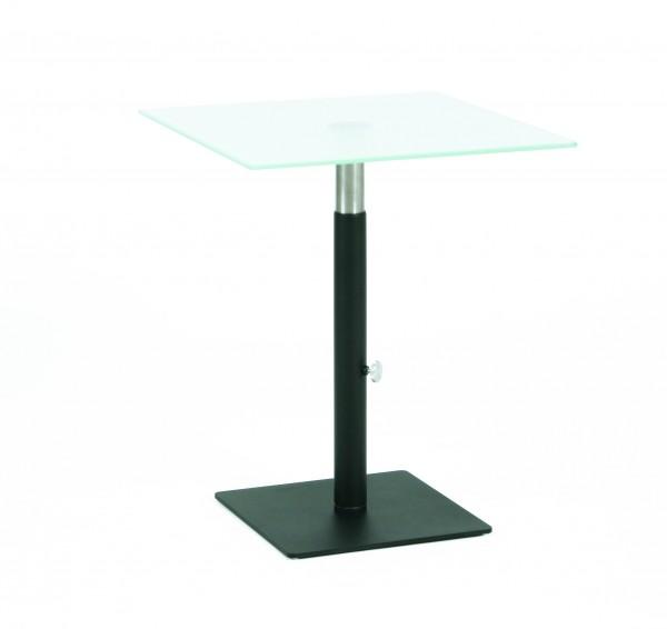 Glastisch Lounge-S9-Variabel-Black