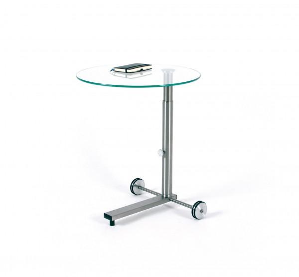 Glastisch Lounge-7-Wheel